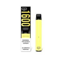 High end e cigarro descartável Vape 1600 Barra Pufa XXL Vape Descartável Vape Pen Preenchido Puff XXL Dispositivo Dispositivo Device Starter Kit Free DHL