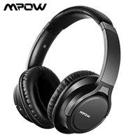 Hot MPOW H7 Bluetooth-hörlurar Stereo över örat Trådlöst huvudet med mikrofon och 13H-speltid för iOS / andriod / tabell / pc / tv