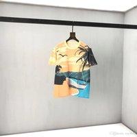 2021SS Primavera e verão Nova alta qualidade de algodão de algodão manga curta redonda painel de pescoço T-shirt Tamanho: M-L-XL-XXL-XXXL Cor: preto branco xx1