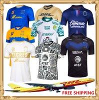 Dhl شحن مجاني 20 21 Club America Soccer Jersey 2020 2021 Club Chivas Soccer Jersey Tigres UANL SHORTS SHORT