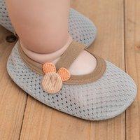 Socks Kids Indoor Shoes Non-Slip Infant Floor For Baby Girls Boys Summer Mesh Breathable Toddler Child Soft