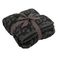 Classic Leopard Wool Manta Manta Sofá CALIENTE Rodilla Tiro Mantas Sofá Cubierta Casa Colcha Solilla Decoración Regalo para Otoño Invierno