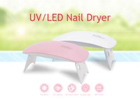 6W Mini Nail Lamp Pink White Nails Dryer Machine UV LED Lamps Portable Micro USB Cable Home Use Drying Lamp For Gel Varnish