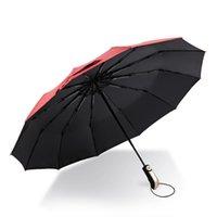 우산 windproof 자동 우산 야외 숙 녀 자외선 보호 낚시 맑은 솜 브린 하스 femininas 접는 ea60ys