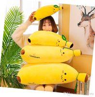 Süße 35cm Super weiche Bananen-Puppe Plüschtier, Daune Baumwollgefüllte Frucht Bolster Kissen, Ornament, Weihnachtskind, Mädchen Geburtstagsgeschenk, Dekoration 3-2