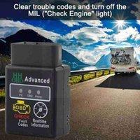 Code Readers & Scan Tools Mini ELM327 V2.1 Bluetooth HH OBD Advanced OBDII OBD2 Diagnostic 327 Tool Reader Auto Scanner ELM Car Selling X1O9