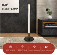 LED Zemin Lambaları Yatak Odası Standı Işık Oturma Odası Ayakta Yatak Işıkları Ev Dekor Fikstür Kapalı Köşe Aydınlatma