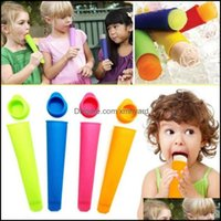 Kitchen Tools Kitchen, Dining Bar Home & Gardencolorf Maker Push Up Cream Jelly Lolly For Popsicle Sile Ice Pop Mold Mod Drop Delivery 2021