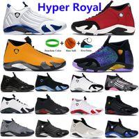 Neue Hyper Royal 14 Basketballschuhe Gym Red Turbo University Gold DoernBecher Candy Cane Last Shot Herausforderung 14s Laufende Turnschuhe