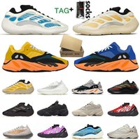 500 700 Kanye West Rahat Koşu Ayakkabıları Yeezy Yeezys V2 V3 Boost Sneakers Enflame Amber Güneş Kremi Kyanite Arzaret Allık Yardımcı Programı Black Mens Womens Tasarımcılar Eğitmenler