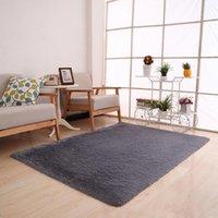 Carpets Anti-Skid Soft Fluffy Rugs Shaggy Area Rug Dining Room Carpet Living Bedroom Floor Mat Home Decor 2021 Tapete Cozinha