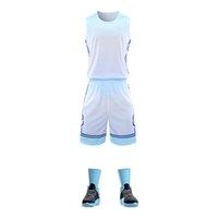003 Ensembles de basket-ball imprimés personnalisés Hommes + Enfants Jerseys 2021 Nouveau Basketball Weaver Waterprint Num and Nom