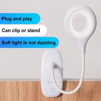 Table Lamps Clip On Touch Sensor Desk LED Lamp Study USB Light Rechargeable Night