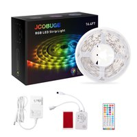 LED Strip Lights with Remote Control, 5050 RGB for Bedroom, Color Changing Light Strips,Light Strip for Kitchen Room Party,UL   ETL certified power supply