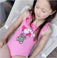 Meninas de verão Uma peça Swimsuit Crianças Crianças Baby Bikini Swimwear Natação Banheira Terno Jumpsuit Beachwear