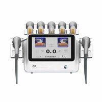 최신 제품 2021 휴대용 HIFU 얼굴 리프팅 안티 링클 7D HIFU 기계
