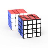 مكعبات مكافحة الإجهاد لغز تململ لعبة Yongjun النسخة المغناطيسية MGC المستوى 4 ماجيك 4 المهنية المنافسة سرعة الضغط الأطفال التعليمية