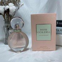 Kadınlar için parfüm 75ml 2.5 fl.Oz.us eau de parfüm gül golbe blossom lokum uzun ömürlü klon tasarımcı seks parfümleri toptan