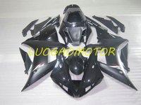 Fairings kit injection molding Bodywork for YAMAHA YZFR1 YZF1000 R1 yzf-r1 yzf1000-r1 2002 2003 ABS Fairing kits 02 03 Black Free Custom Cowling