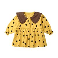 Girl's Dresses Baby Girl Clothes Polka Dot Princess Dress Pageant Party Sundress