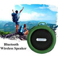 Bluetooth al aire libre impermeable altavoz manos libres portátil incorporado micrófono micrófono acampar bicicleta piscina altavoz de la piscina con ventosa