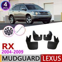 Mudflap لكم Lexus RX RX300 RX330 RX350 RX400H 2004 ~ 2009 Fender Min Guard Splash Flaps Flins Accessories 2006 2007 2008 2008