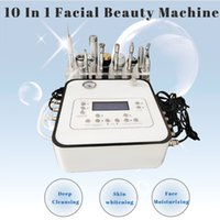 Anti-Aging Facial Beauty Machine Blackheads Removal Microdermabrasion Equipment Face Lifting Wrinkle Reduction 10 In 1 Portable Instrument