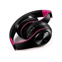 3.0 Słuchawki bezprzewodowe Stereo Słuchawki Bluetooth Składane Słuchawki Animacja Wyświetlono Obsługa Karty TF Build-in Mic 3.5mm Jack