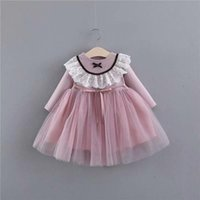 Infant Baby Girl Dress Mesh Lace Ball Gown net yarn princess...