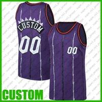 Özel Gerileme Toronto Basketbol Takımı Jersey DIY Dikişli Ad Numarası Kazak Boyutu S-XXL SFGN65