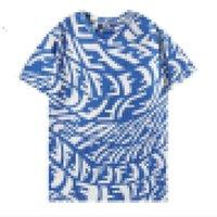 2022 Francia 3D Lettere T-shirt da ricamo T-shirt Mens Womens Coppie Estate Top Quality Paris Street Tee Men S Abbigliamento Abbigliamento Casual Manica corta manica