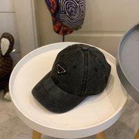 2021 Trendy Erkekler Beyzbol Kap Siyah Beyaz Hip Hop Tasarımcılar Caps Şapka Erkek Yaz Moda Tasarımcısı Cappelli Firmati