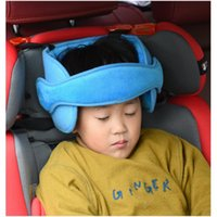 Seat Cushions Baby Kids Adjustable Car Head Support Fixed Sleeping Pillow Neck Protection Safety Playpen Headrest Fixation Padding