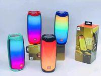 شعبية نبض 4 جيل ملون ضوء تأثير نبض 4 بلوتوث المتكلم اللاسلكية مضخم صوت في الهواء الطلق المحمولة الصوت P4