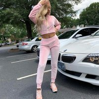 Women's Tracksuits Spring Winter Two Piece Set Women Clothes Long Sleeve Sweatshirts Hoodie Pants Woman Track Suit 2 Outfit Casual