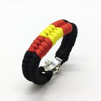 Gadgets al aire libre Estilo 550 Paracord Ribbon Brazilian Jiu-Jitsu Pulsera