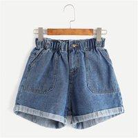 Women's Jeans High Waist Shorts Women Sexy Summer Streetwear Wide Leg Mini Short Flare Slim Fit Y2k Aesthetic Vintage Denim