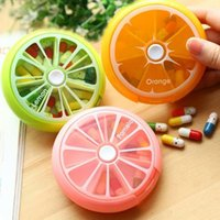 Toiletry Kits 1Pcs Portable Weekly Rotating Mini Box Case Splitter Tablet Storage Organizer 7 Day Container For Travel