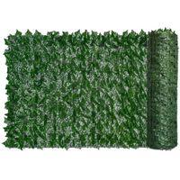 Haie artificielle verte feuille de lierre clôture clôture écran fausse herbe décorative décoratif décoratif protection de la vie privée maison balcon jardin