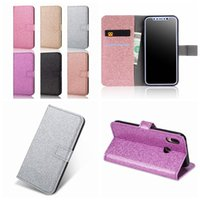 Leather Wallet Cases For Iphone 13 12 Pro MAX Mini 11 XR XS X 8 7 6 Plus SE 5 5S Bling Sparkle ID Card Slot Glitter Sparkly Holder Flip Covers Luxury Fashion Pouches