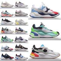 Top Qualité Unisexe RS2K RU2K Running Shoes Femmes Hommes Amortisseurs Sport Couple Couple Entraîneur Sneaker Sneaker Loisirs Chaussures de loisirs