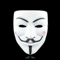 Movie Cosplay V Hacker Anonymous Guy Fawk Halloween Christmas Party Gift For Adult Kids Film Theme Mask