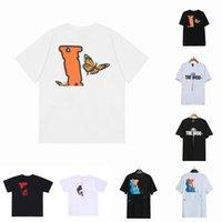 Summer Hommes Femmes Designers T-shirts T-shirts Loose Tees Mode Marques Tops Man S Casual VlonesT-shirt Luxurys Vêtements Street Short Short Vêtements T-shirts
