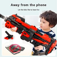 Electric Burst Soft Bullet Toy Gun Plastic Pistol Boy Home Outdoor Game equipment Red Black Model Toy