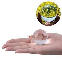 Fotografía Mágica Fotografía Cristal Bola de cristal Equipo Fengshui Crystal para la imagen inversa Tomar mesa Decoración del hogar Geomanceer