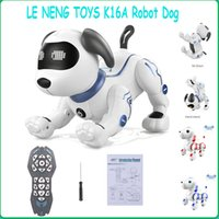 Le Neng Toys K16A Elektronische Tier Haustiere RC Roboter Hund Tanztanz Stimmsteuerung Touch-Sense Programmierbare Musik Song Haustier Spielzeug Kind Geschenk