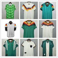 1980 1988 1990 1992 1994 1996 1998 1998 2004 الرجعية ألمانيا لكرة القدم جيرسي ماتثوس بالاك كلينسمان كلوزه