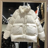 Mujeres Winter Parka espesar chaqueta de algodón caliente abrigo con capucha chaqueta de algodón femenino