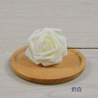 50 шт. 7см Искусственные цветы со стволом пены поддельные поддельные цветы свадьба Букет 2205 V2