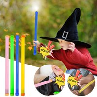 Brinquedos de plástico coloridos e interessantes Magic Wand presentes infantis brinquedos educativos são fáceis de transportar fontes de jogos de férias e festa